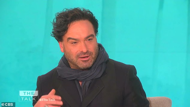 Finale talk: Last week Galecki talked the final episodes on The Talk on Thursday morning