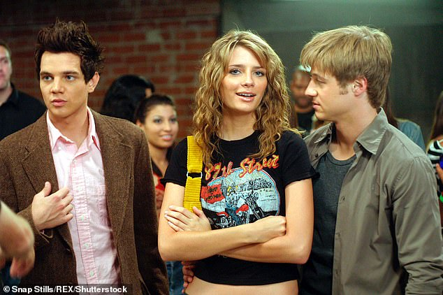 Too much: The 33-year-old actress was having a difficult time juggling her career with her character Marissa Cooper's storyline and despite heavy criticism about her exit from the Fox show, Barton feels like 'everything sort of worked out' on its own; seen on the show in 2004