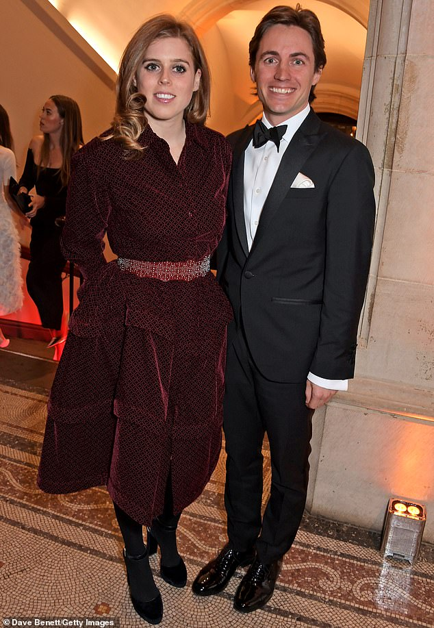It is thought the two were friends for years before their friendship evolved into a romance. (Above, the pair at The Portrait Gala 2019, hosted by Dr Nicholas Cullinan and Edward Enninful to raise funds for the National Portrait Gallery's 'Inspiring People' project)