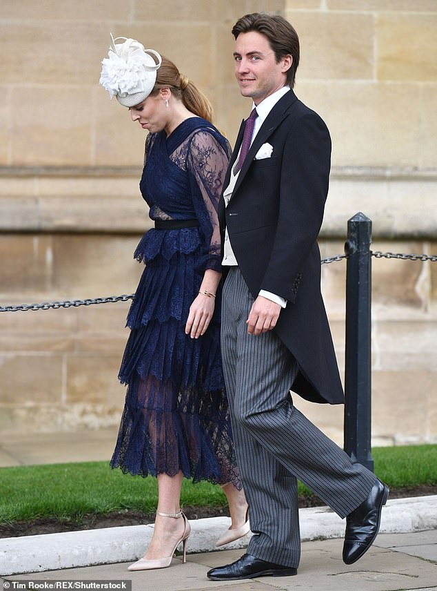 Architect Edo accompanied Bea to her cousin Gabriella Windsor's wedding last weekend. It was their first royal outing together, confirming suspicions that their romance has become more serious