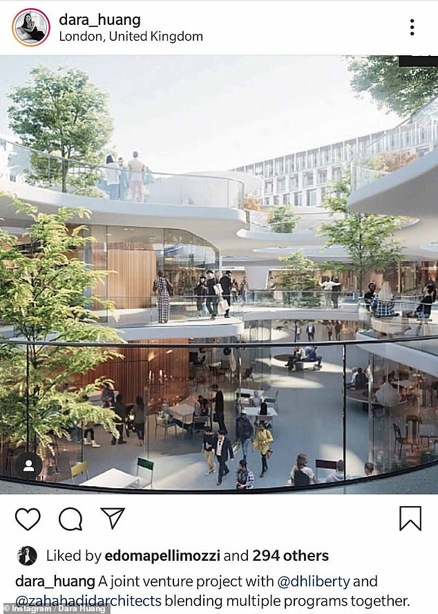 Another of Edoardo's likes of his ex's work on Instagram. He founded a real estate firm in 2007, and serves as its CEO to this day. The company specialises in finding and developing homes for wealthy clients