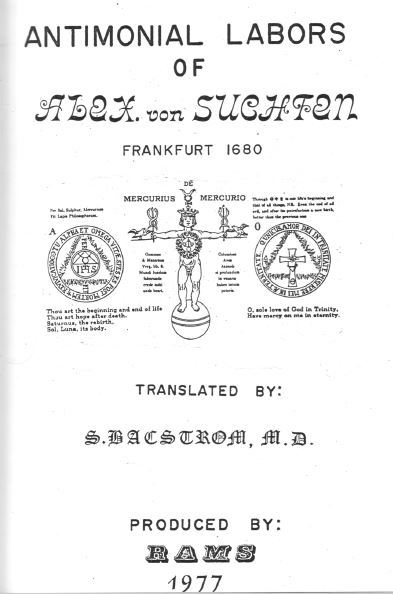 """Compendium of Alchemical Tracts"", Volume 1,"