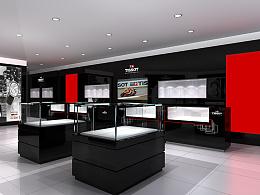 珠宝饰品行业空间设计-TISSOT手表新东安店空间设计-墨尔本视觉设计空间设计