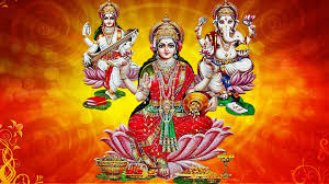 MAA LAXMI WITH OWL, 3D LAXMI GANESH SARASWATI WALLPAPER, HAPPY LAXMI PUJA WALLPAPER