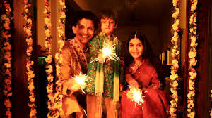 Deepavali celebration with family