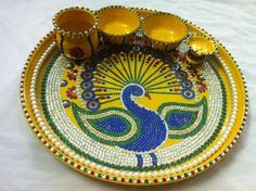 thali decoration competition ideas