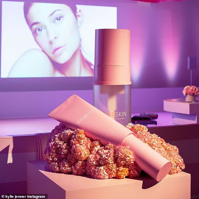 A pro: The event was designed by Mindy Weiss, the LA-based party planner who also designed the enormous Stormi World party thrown for Kylie's daughter's first birthday