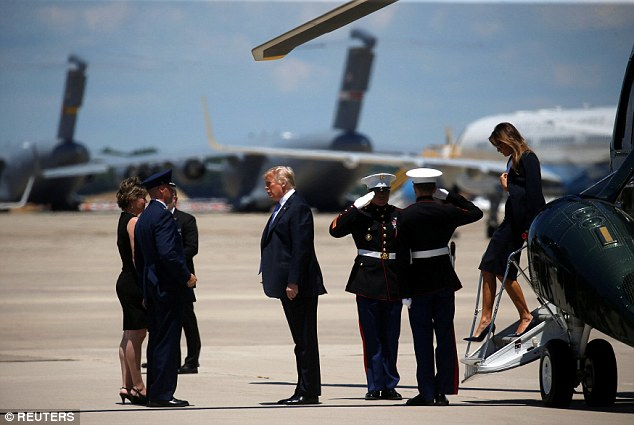 The 42-year-old law enforcement officer died of a stroke while on a protective duty assignment in Scotland, where the president was golfing over the weekend. Agent Remagen will arrive today at 1:30 pm, Secret Service said in a statement via an Air Force airlift