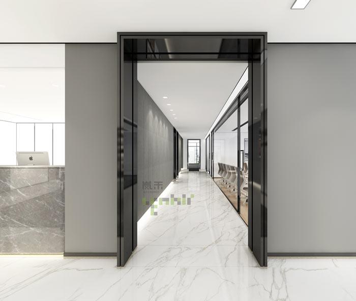 杭州律师事务所办公室过道装修设计效果图