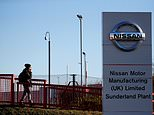 UK jobs under threat: The Financial Times reports that Nissan will cancel plans to build the next-generation Qashqai at the Sunderland facility in the event of a no-deal Brexit