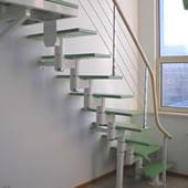 脊索楼梯_钢木楼梯