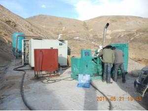 西藏日喀则电站建设