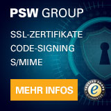 SSL-Zertifikate, Code-Signing, S/MIME