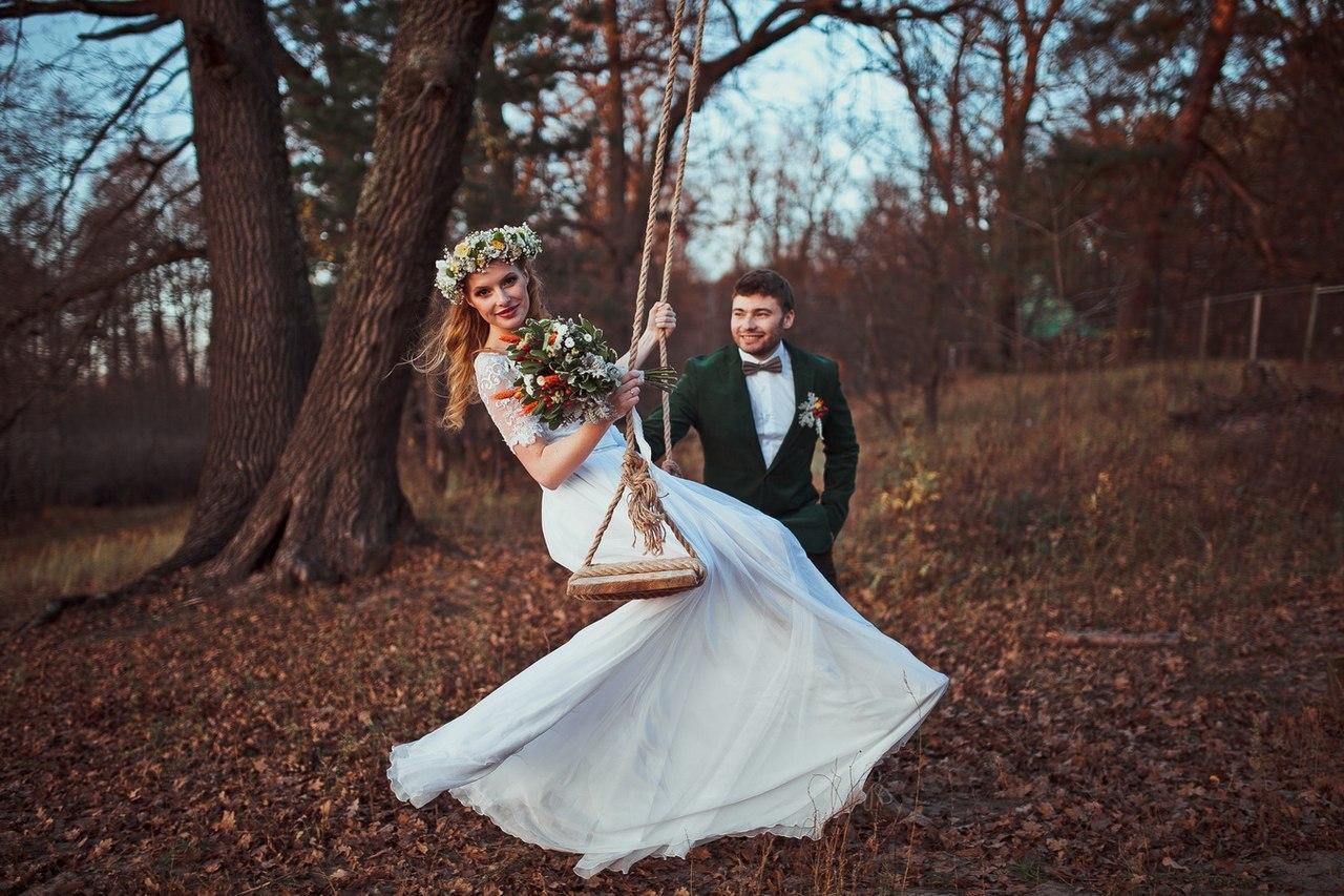 Ideas for a wedding photo shoot