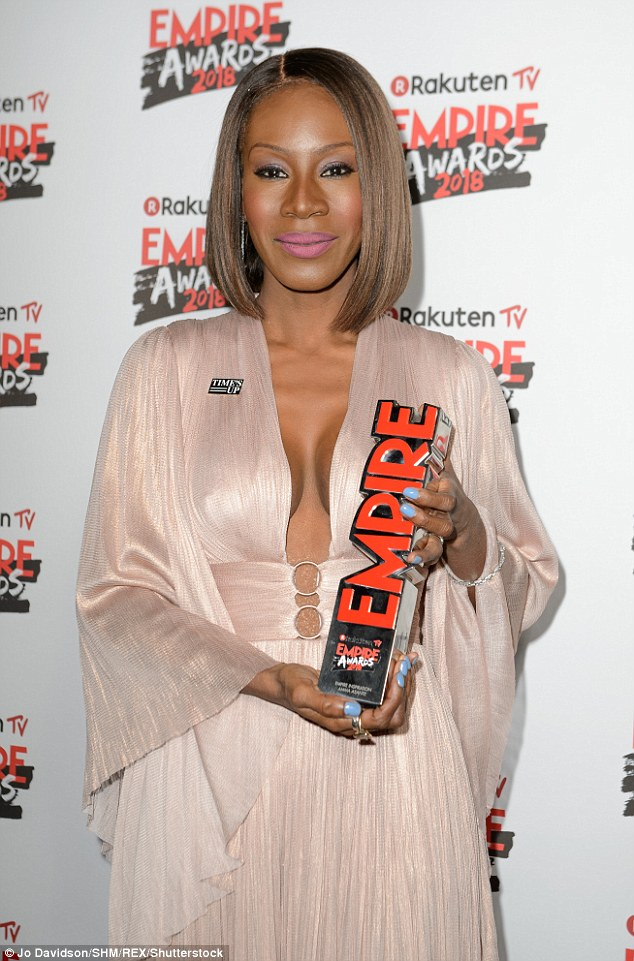Groundbreaking: Amma Asante received the Empire Inspiration Award