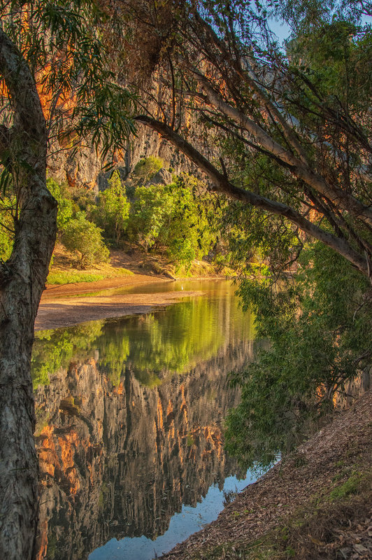 The banks of the Lennard River