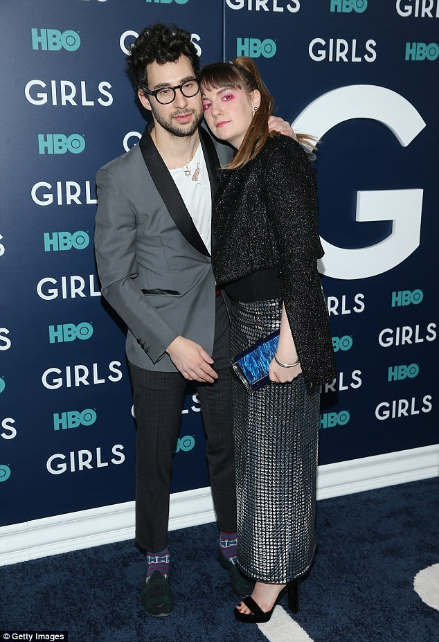 Moving on: The 33-year-old musician had confirmed his split from Girls creator Lena Dunham last month, as they are pictured together in New York back in February of last year