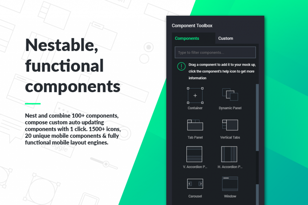UX-App : Nestable, Functional Components