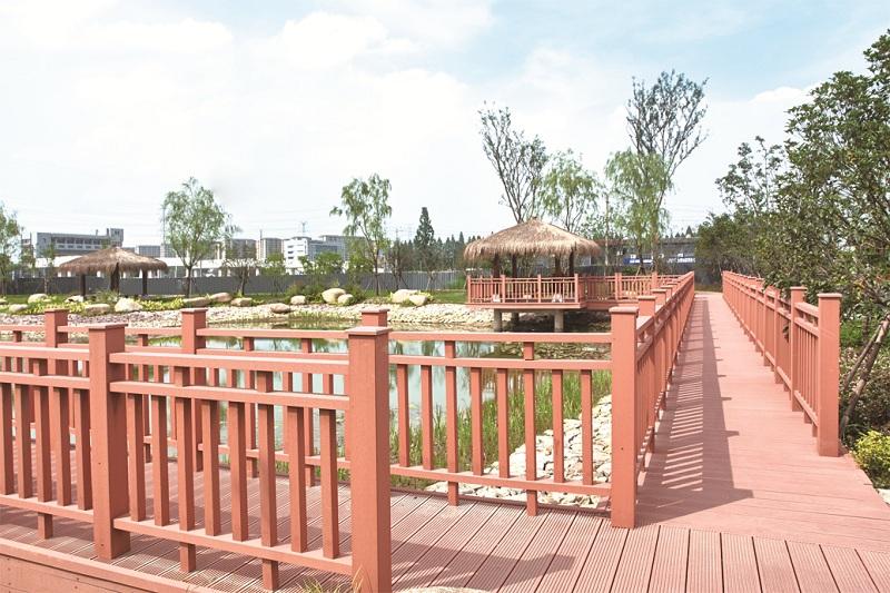 钱塘农园塑木景观