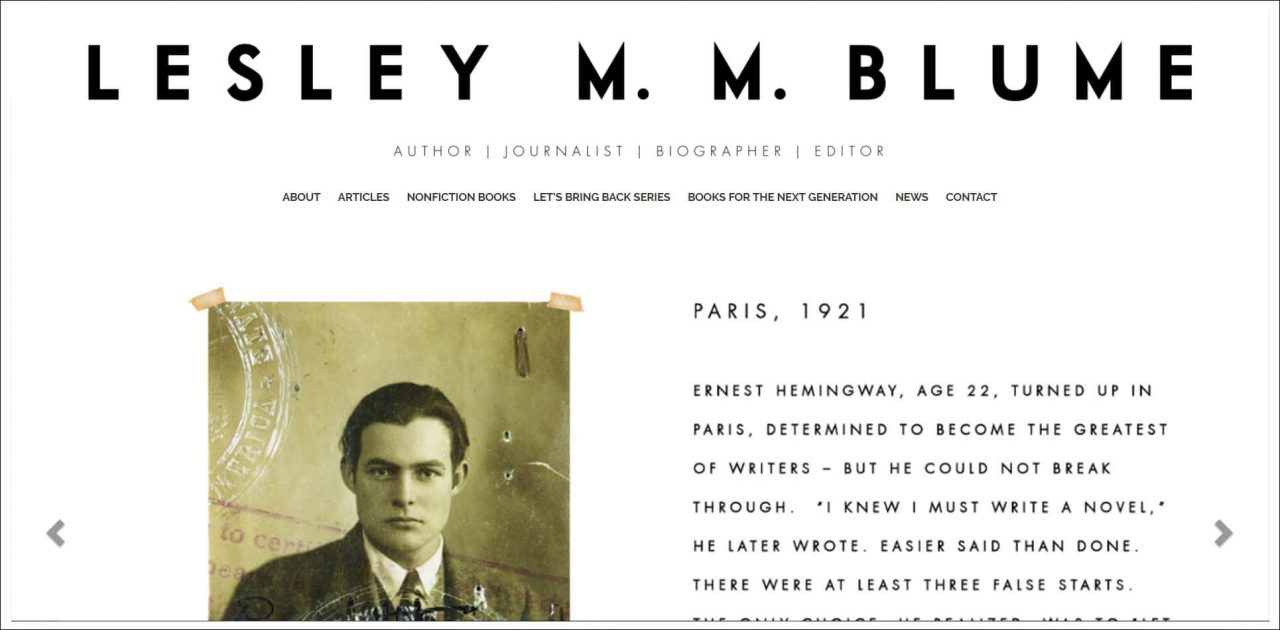 11 Author Websites That Get It Right - Lesley