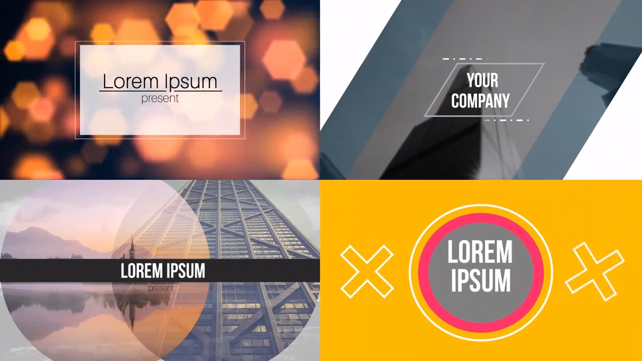 PowerPoint Video Templates Preview 1