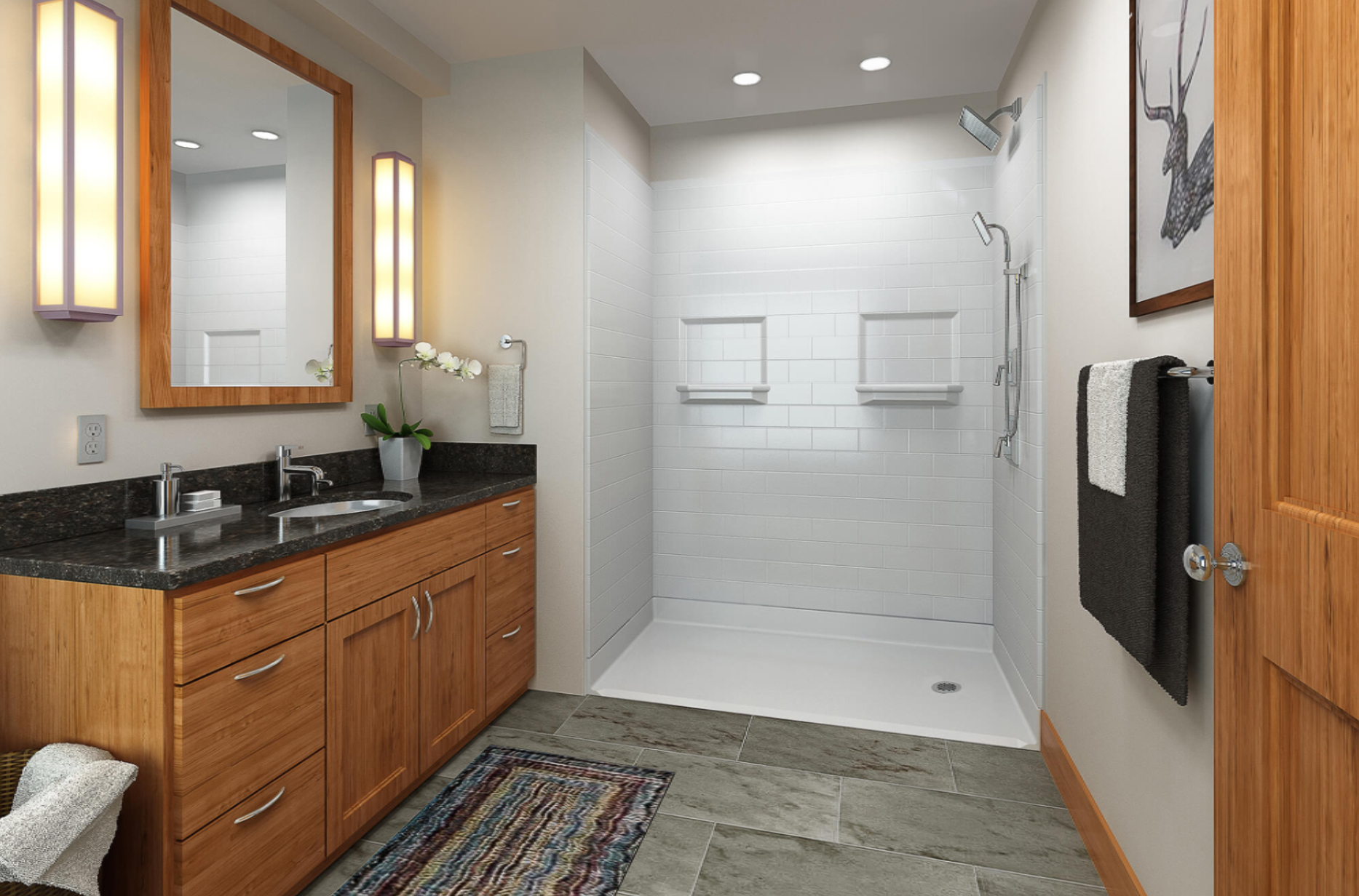 Choosing The Best Walk-In Accessible Shower #2