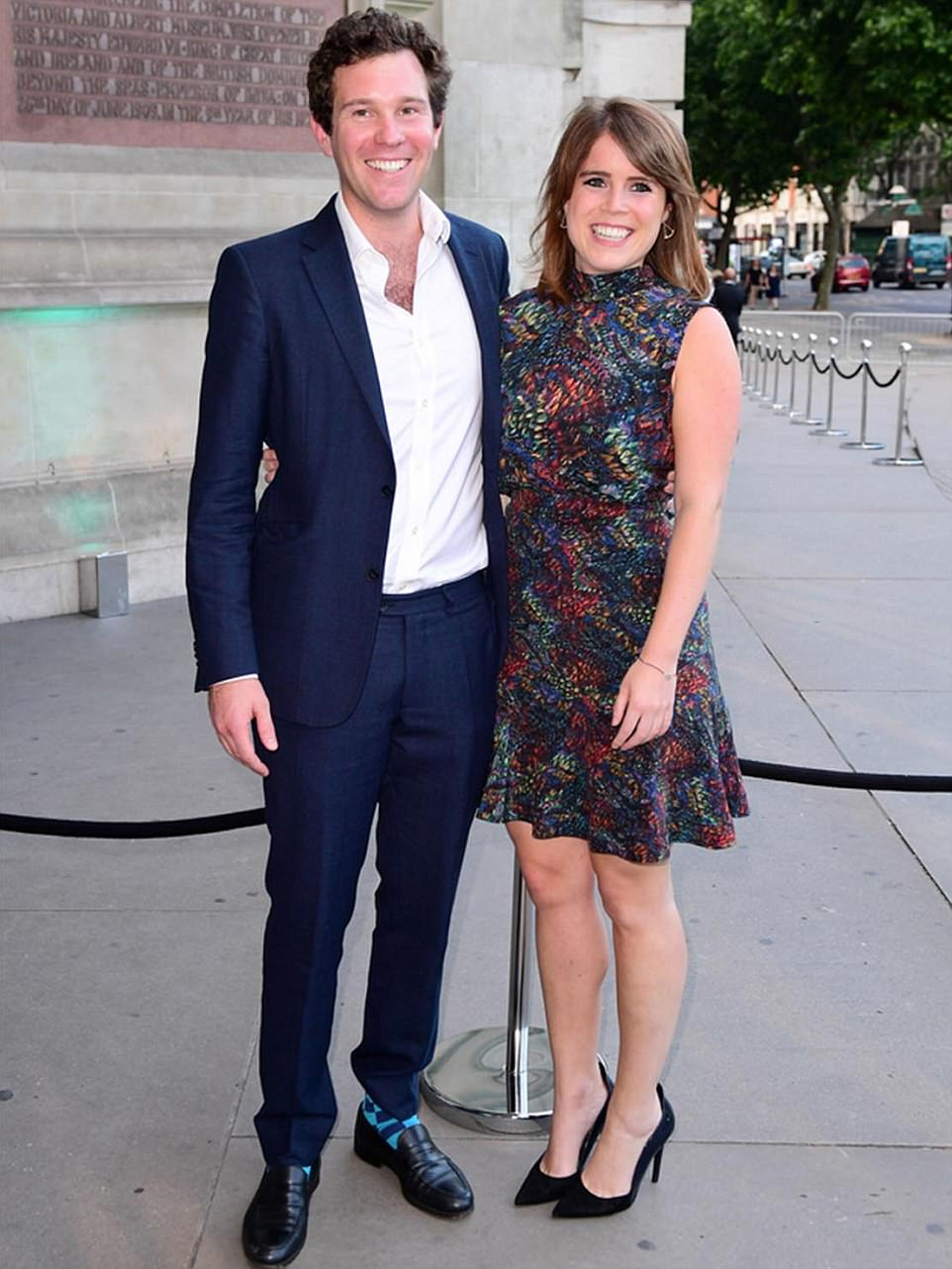 Princess Eugenie, 27, is engaged to her long-term boyfriend Jack Brooksbank and they'll marry at St George's Chapel in Windsor