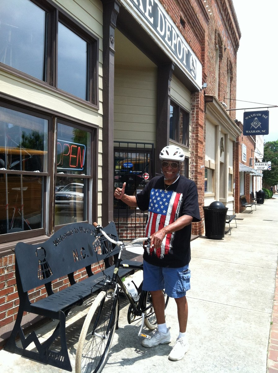Congratulations Jim on your new Evo Classic City bike! Enjoy in good health our friend!
