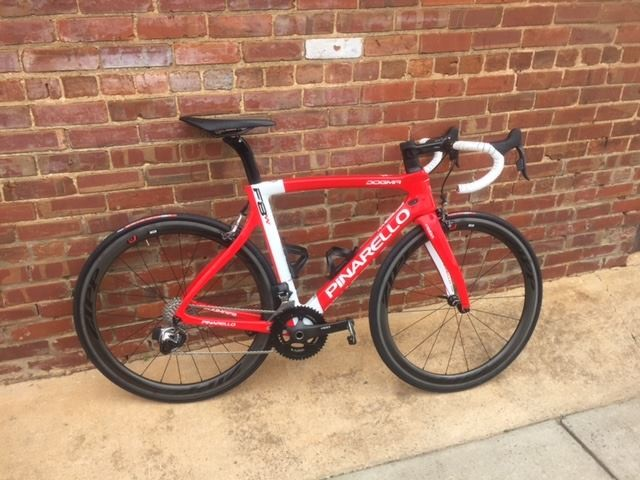 Dogma F8W Exclusive Limited Edition 896 Red White...stunning!!