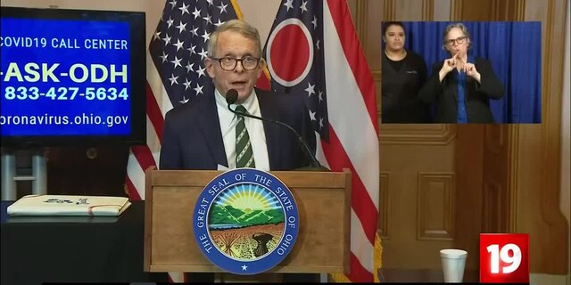 Ohio Gov. DeWine: 'Every signal' given indicating that state's stay-at-home order will be extended