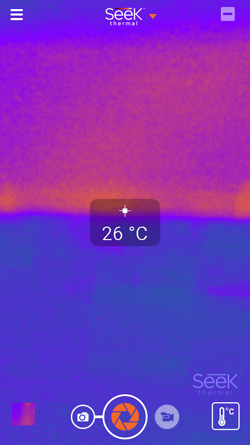 Seek Thermal – Screenshot
