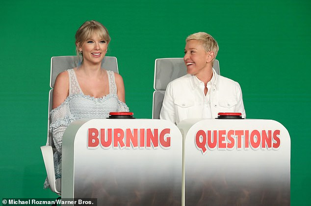Throwback! Ellen joked that incident 'held onto you,' because she didn't remember it at all