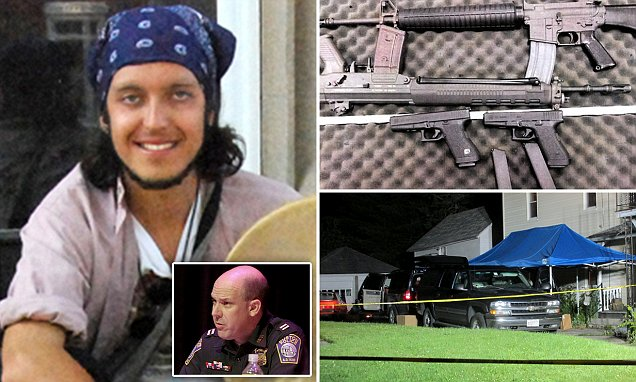Boston police captain's son Alexander Ciccolo charged in ISIS terror bomb plot