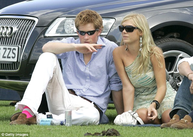 Joining the guestlist:Prince Harry's ex-girlfriend Chelsy Davy (pictured together in 2006) is believed to be invited
