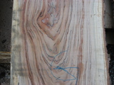 8/4 +1/8 over cherry slabs with gum-stain and/or figure
