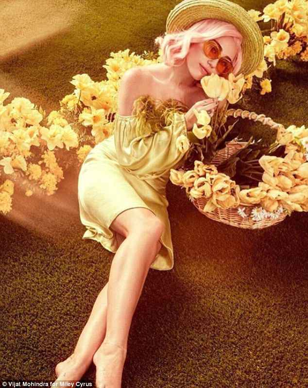 Wild things: The photo shoot transitioned from fifties inspired to a seventies chic vibe