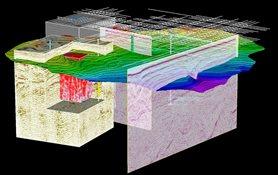 Multi-survey interpretation in SeisEarth