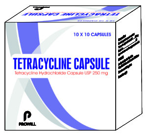 Tetracycilne Capsule 250 mg New