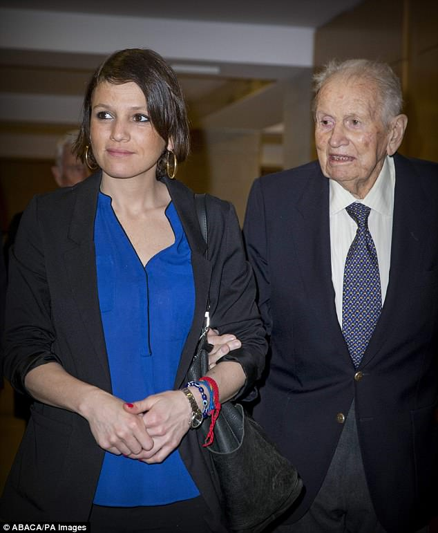 Inés Zorreguieta, pictured with her late father Jorge Zorreguieta last year, worked for the government in Argentina