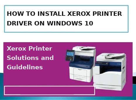 install-xerox-printer-driver