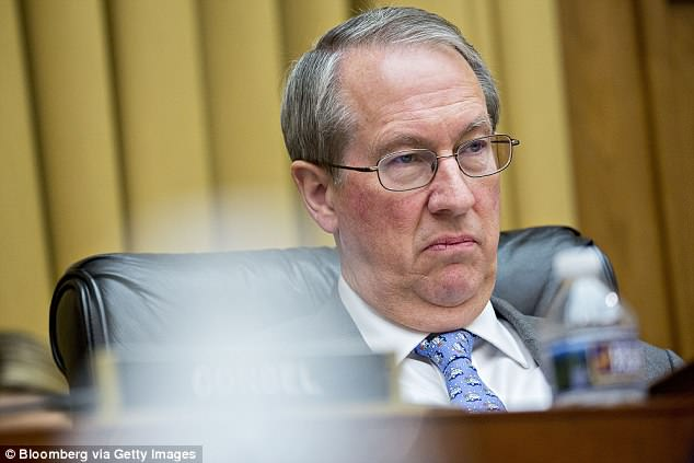 Trump was referring to Rep. Robert Goodlatte (above), the GOP chairman of the House Judiciary Committee, who subpoenaed documents from the Justice Department as part of the panel's probe into Democrat Hillary Clinton