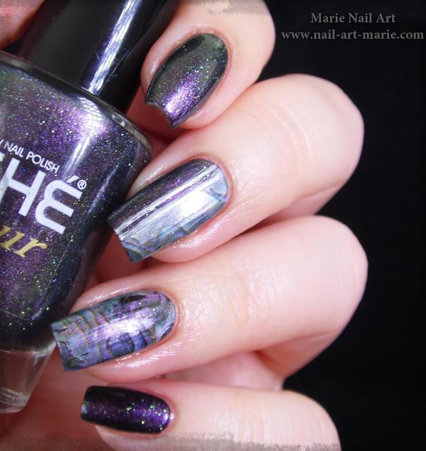 Nail Art effet Nacre1