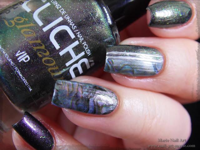 Nail Art effet Nacre4