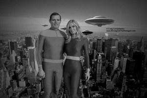 Val Thor (Jeff Joslin) and Deena Thor (Eileen Davidson)
