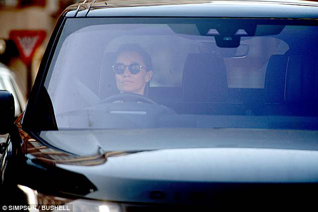 The former party planner was seen driving away in her Range Rover after the gym visit
