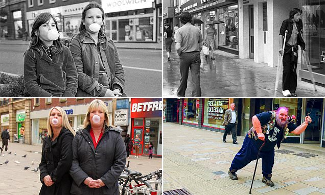 Photographer tracks down people he snapped in his hometown almost 40 YEARS AGO
