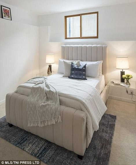 Cosy: The colour scheme is neutral throughout
