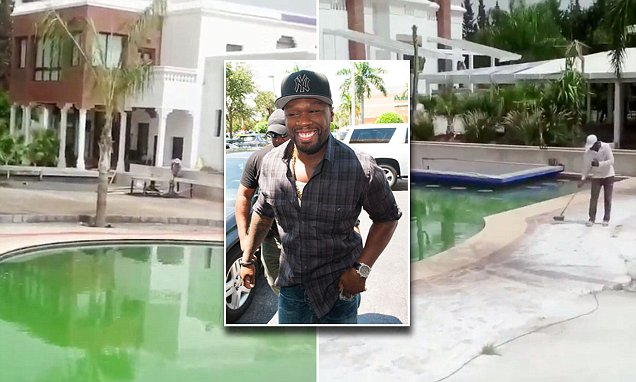 50 Cent shows off his new home in Africa amidst bankruptcy