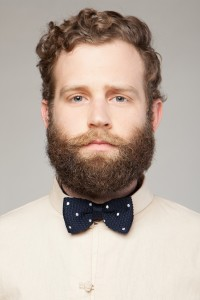 mens navy and white polkadot bow tie Images