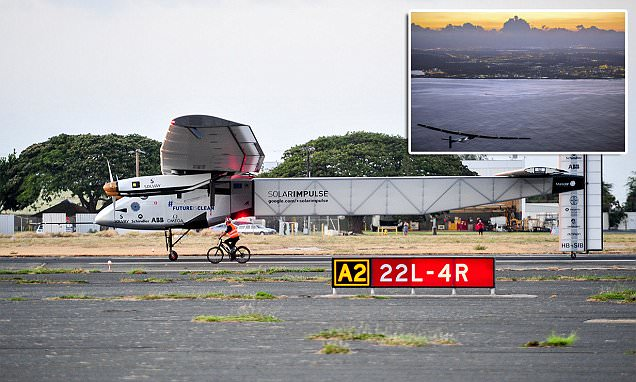 Solar Impulse 2 grounded in Hawaii after suffering battery damage